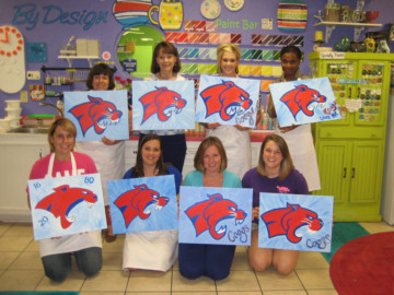Paint Your Own Canvas Class