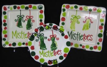 Mistletoes Platter